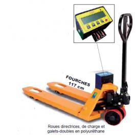 Transpalette peseur charge 2 tonnes