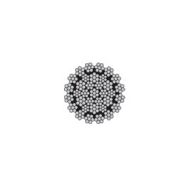 Câble antigiratoire 35 torons de 7 fils