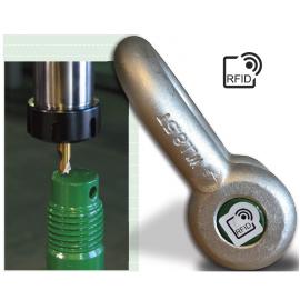 Manilles lyres et droites axe boulonné goupillé Green Pin lecture RFID +17 tonnes