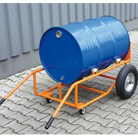 Diable porte fût mobile pour 1 fût 230 litres basculant