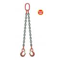Elingue chaîne avec crochets à linguets