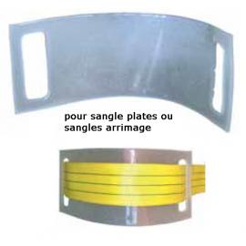 Passant 225x80 en polyuréthane pour  protection des sangles 50mm