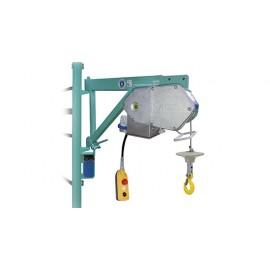 Treuil électrique de levage de chantier 150kgTR225N 50m