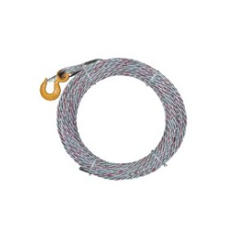 Elingue câble Galva D6mm antigiratoire 1 CROC STD