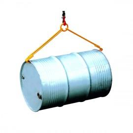Pince de levage pour fût horizontal 500kg