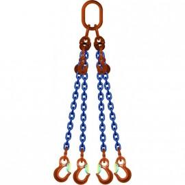 Elingue chaîne GRADE 100 réglable avec crochets à linguet