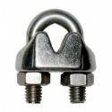 Serre câble à étrier INOX AISI 316