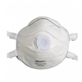 Demi-masque classique avec valve (boîte de 5 pièces)