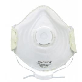 Demi-masque confort avec valve (boîte de 10 pièces)