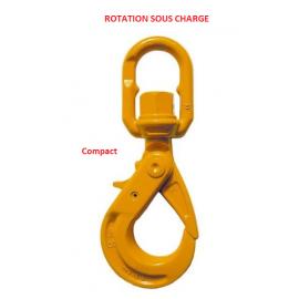 Crochets émerillon Compact à verrouillage automatique  EXCEL Rotation sous charge