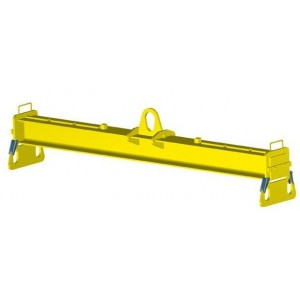 Palonnier monopoutre à 4 crochets de sécurité