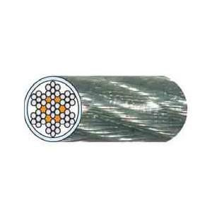 Câble acier gainé PVC