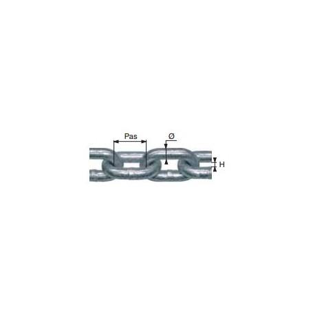 Chaîne calibrée norme NFE 26012