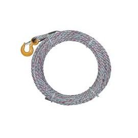 Couronne câble galva avec crochet pour appareils tireurs