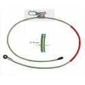 Longe câble de maintien au travail réglable EN358