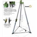 Tripode de sécurité  aluminium EN795