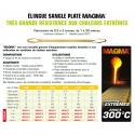 Élingue plate MAGMA conditions extrêmes jusqu'à 300°  de 0.3 à 3 tonnes