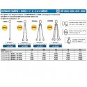 ELINGUES CHAINE INOX 316 1, 2, 3 & 4 brins