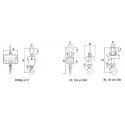 Dynamomètre XZP de 100kgs à 1 tonne