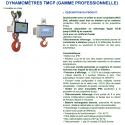 Dynamomètre pour zone ATEX à affichage digital