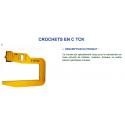 Cé de retournement pour bobine, rouleaux, pièces cylindriques TCK