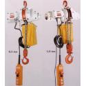 Palan électrique US900 0.5 et 1 tonne 230V monophasé