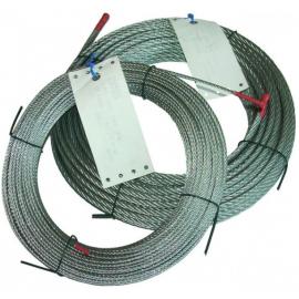 câble acier 7 torons de 7 fils en couronnes de D1.5 à 6 mm
