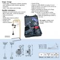 Mini-Treuil portatif Pulley-Man 300kg