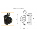 Kit complet Mini-Treuil portatif Pulley-Man 300kg