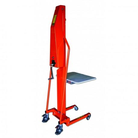 Gerbeur manuel positionneur de travail capacité 100 et 200kg