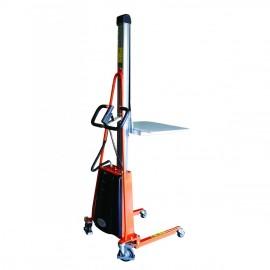 Gerbeur semi-électrique positionneur de travail capacité 100 à 250kg