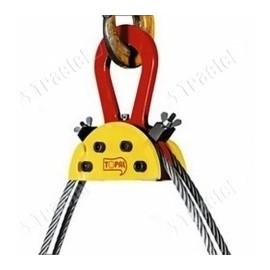 Tête d'équilibrage pour élingue cable à verrouillage auto