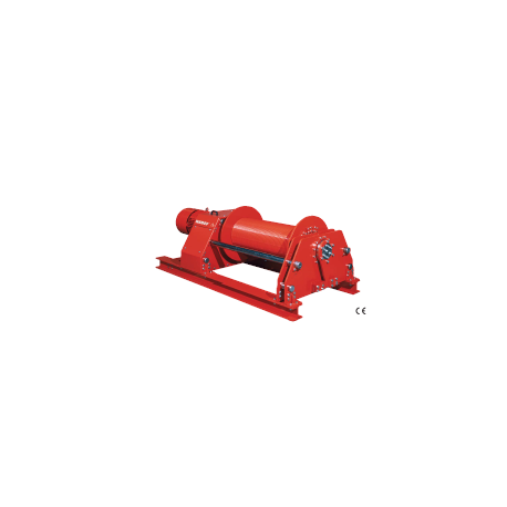 Treuil électrique de halage grandes vitesses
