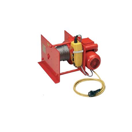 Treuil électrique de halage 125-3200 kgs