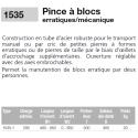 Pince pour blocs erratiques ou irréguliers CMU 200kg
