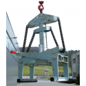 Pinces pour éléments préfabriqués GBA EICHINGER de 0.9 à 2.5 tonnes