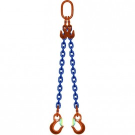 Elingue chaîne GRADE 100 réglable avec crochets à linguets