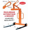 Lève-palettes réglables 6029 à équilibrage automatique