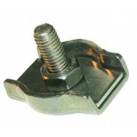 Serre-câble plat INOX 1 boulon