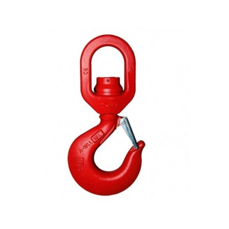 Crochet à touret rotation en charge (avec roulements) de 5.4  à 31.5 tonnes