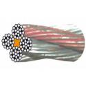 Câble galvanisé pour appareils tireurs