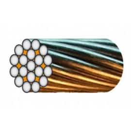 Câble monotoron de 19 fils (1+6+12 fils) de D1 à 10 mm