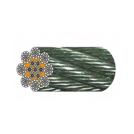 Câble Galva 8 torons de 26 fils