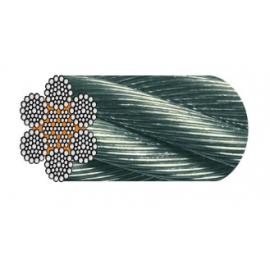 Câble 6 torons de 36 fils Warrington Seale de 10 à 38 mm
