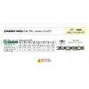 Chaîne INOX 316 Norme DIN 766