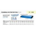 Fourreau de protection PVC