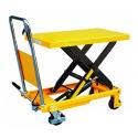 Table élévatrice hydraulique mobile 150 kgs