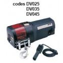 Treuil de traction électrique 12/24 Volts