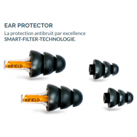 Protection auditive réutilisable 23 dB EAR PROTECTOR