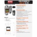 Dynamomètre REMA TX/RX lecture déportée de 5 à 50 tonnes
